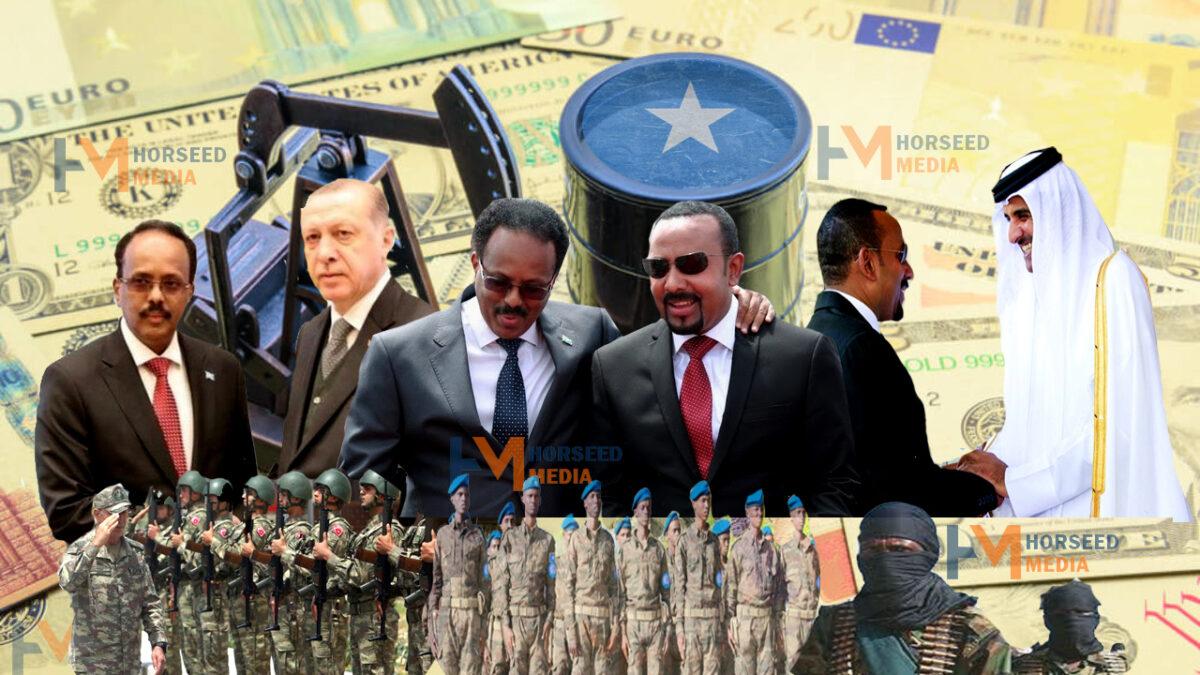 Damaca Turkiga, Qatar & Itoobiya ee Soomaaliya