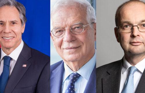 Antony J. Blinken, Josep Borrell iyo James Duddridge